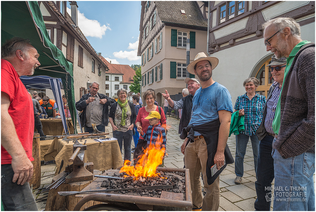 Internationaler Museumstag und Stadtfest 2017 in Blaubeuren
